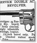 Revolver, 19th Century Metal Print