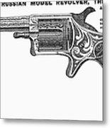 Revolver Ad, 1878 Metal Print