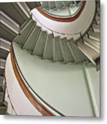 Revolving Stairs Metal Print by Photo By Dasar