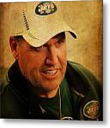 Rex Ryan - New York Jets Metal Print
