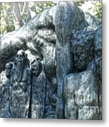 Reykjavik Iceland Statue - 10 Metal Print