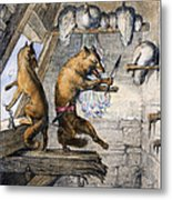 Reynard The Fox, 1846 Metal Print