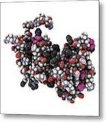 Rgs Domain Molecule Metal Print