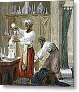 Rhazes, Islamic Scholar Metal Print