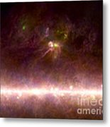 Rho Ophiuchi Nebula And Galactic Center Metal Print