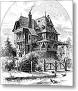 Rhode Island: Villa, 1876 Metal Print by Granger
