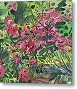Rhododendrons And Azaleas Metal Print