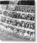Rhythm Of The Rain Metal Print