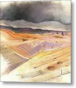 Ribera Del Duero In Spain 08 Metal Print