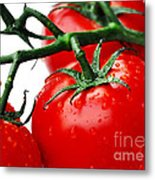 Rich Red Tomatoes Metal Print