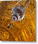 Richly Decorated Ceiling Metal Print