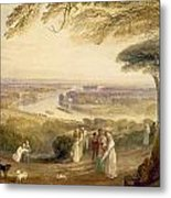 Richmond Terrace Metal Print by Joseph Mallord William Turner