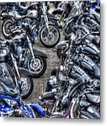Ride And Shine Metal Print