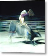 Ride Him Cowboy Metal Print