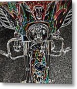Ride Like The Devil Metal Print