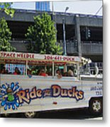 Ride The Ducks Metal Print