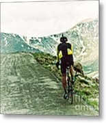 Ride The Rockies Metal Print