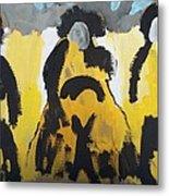 Riders Of The Purple Sage Metal Print by Jay Manne-Crusoe