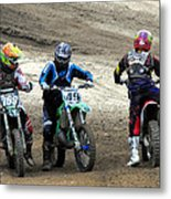 Riders Ready Metal Print