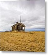 Ridge Top School Metal Print by Jean Noren