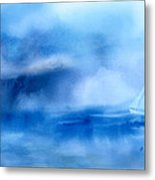 Riding Out The Storm Metal Print