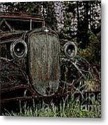 Riding Ysteryear Metal Print