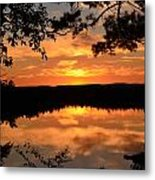 Rifle Rive State Park Sunset Metal Print