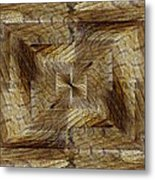 Rift In The Sand Metal Print