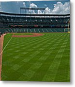 Right Field Of Oriole Park At Camden Yard Metal Print