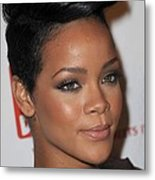 Rihanna At Arrivals For The 3rd Annual Metal Print by Everett