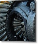 Ring And Pinion  Metal Print