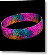 Ring Of Feathers 3d Metal Print