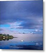 Ring Of Kerry, Dinish Island Kenmare Bay Metal Print by The Irish Image Collection