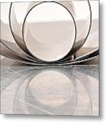 Ring Pans Metal Print