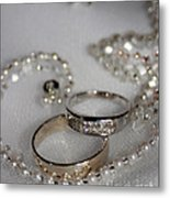 Rings Of Love Metal Print by Joanne Kocwin