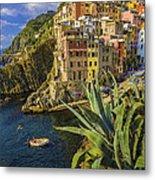 Rio Maggiore Cinque Terre Italy Metal Print
