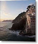 Riomaggio Sunset Metal Print