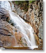 Ripley Falls - Crawford Notch State Park New Hampshire Usa Metal Print
