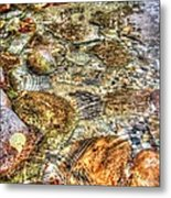 Ripple Effect Metal Print