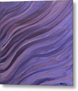 Ripples In The Sand Metal Print