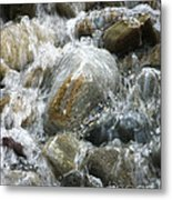 Rippling Water Metal Print