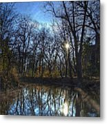 Rising On The River Metal Print