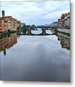 River Armo. Metal Print by Terence Davis
