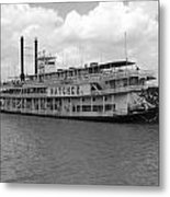 River Boat Queen Metal Print