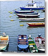 River Boats On Danube Metal Print by Elena Elisseeva