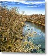 River Crossing Virginia Metal Print