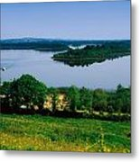 River Cruising, Upper Lough Erne Metal Print by The Irish Image Collection