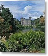 River In Front Of A Castle, Johnstown Metal Print