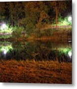 River Night Smooth Metal Print