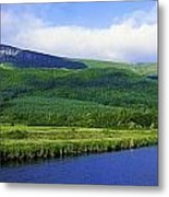 River Roe, Binevenagh, Co Derry Metal Print